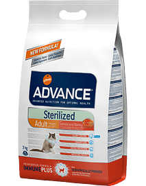 Advance Cat Sterilised Sensitive Salmon & Barley