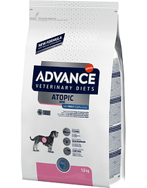 ADVANCE VET DOG MINI ATOPIC WITH TROUT - 1,5 KGS