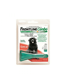 FRONTLINE SPOT ON COMBO CÃO (XL) 40-60 KGS (1 PIPETA)