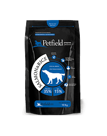 PETFIELD SALMON & RICE - 10 Kgs