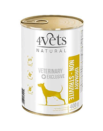 4VETS - URINARY SUPPORT VETERINARY DIET (GRAIN-FREE) - 400 GRS