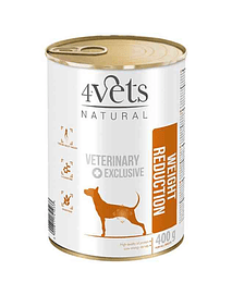 4VETS - WEIGHT REDUCTION VETERINARY DIET (GRAIN-FREE) - 400 GRS