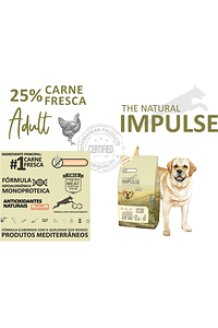 THE NATURAL IMPULSE DOG ADULT