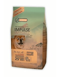 THE NATURAL IMPULSE DOG SALMON
