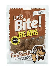 BRIT LET'S BITE BEARS - 150 GRS