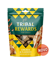 TRIBAL REWARDS - CHICKEN & FLAXSEED - 130 GRS