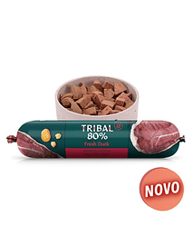 TRIBAL 80% DUCK GOURMET SAUSAGE - 750 GRS