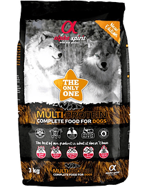 Alpha Spirit Dog Dry Food Multiprotein