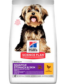 Hills Science Plan Sensitive Stomach & Skin Small & Mini Adult Dog with Chicken