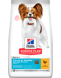 Hills Science Plan Calm & Happy Small & Mini Adult Dog with Chicken