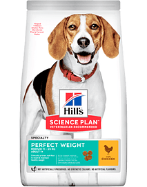 Hills Science Plan Perfect Weight Medium Adult Dog with Chicken
