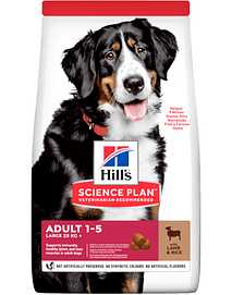 Hills Science Plan Large Breed Adult Dog with Lamb & Rice