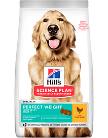 Hills Science Plan Perfect Weight Large Breed Adult Dog with Chicken