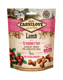Carnilove Dog Crunchy Snack Lamb & Cranberries - 200 Grs