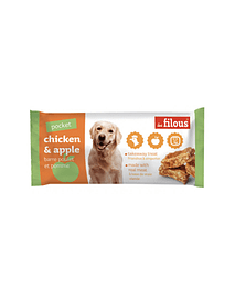 Snack Barra Chicken & Apple Eurosiam - 3x25 Grs