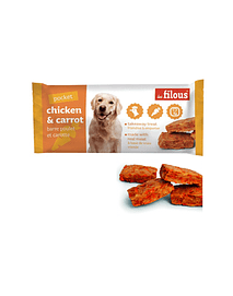 Snack Barra Chicken & Carrot Eurosiam - 3x25 Grs