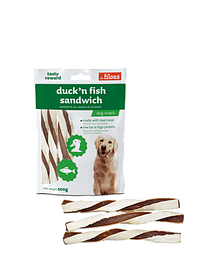 Snack Duck & Fish Sandwich Eurosiam - 100 Grs