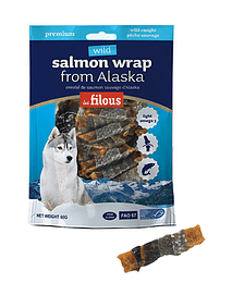 Snack Salmon Wrap from Alaska Eurosiam - 60 Grs
