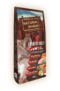 Natural Woodland Dog Country Diet