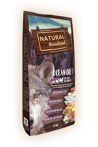 Natural Woodland Dog Ocean Diet