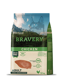 BRAVERY Chicken Adulto Medium-Large Grain-free