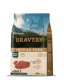 Bravery Ibéria Pork Adult Medium-Large Grain-free
