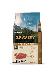 Bravery Iberian Pork Adult Mini-Small Grain-free