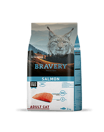 Bravery Salmon Adult Cat Grain-free