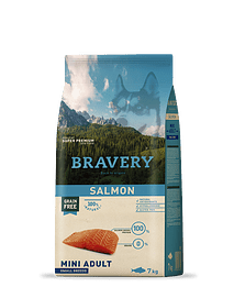 Bravery Salmon Adult Mini-Small Grain-free