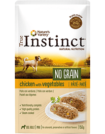 True Instinct Dog Mini Adult No Grain Pate Chicken & Vegetables
