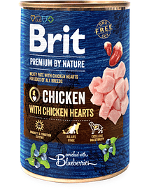 Brit Blue Nature Dog Chicken with Hearts