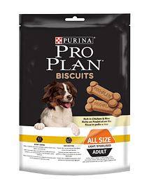 Pro Plan Dog Biscuits Light Chicken & Rice 400 Grs