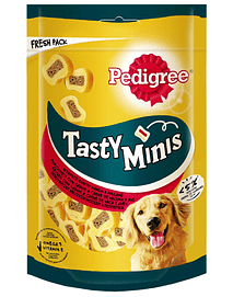 Pedigree Dog Snack Tasty Minis Chewy Slices
