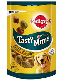 Pedigree Dog Snack Tasty Minis Chewy Cubes