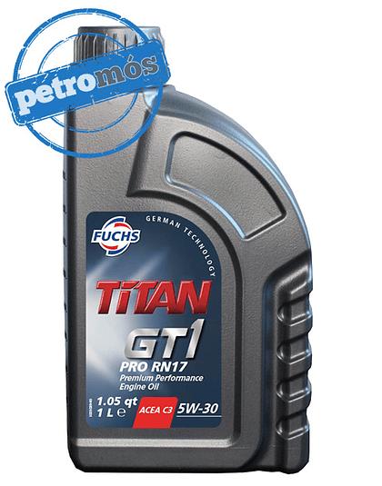 FUCHS TITAN GT1 <BR> PRO RN17 5W30