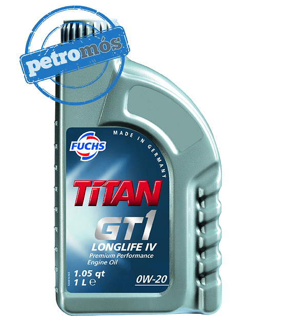 FUCHS TITAN GT1 <BR> LONGLIFE IV 0W20