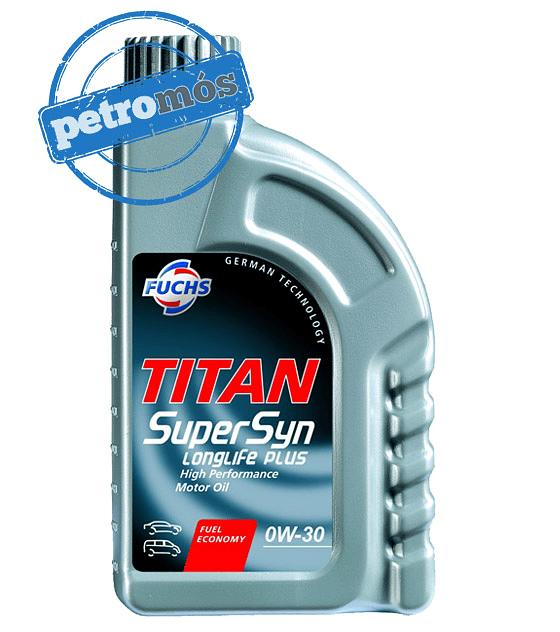 FUCHS TITAN Supersyn LONGLIFE PLUS 0W30