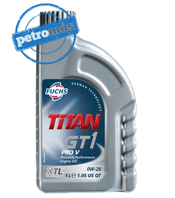 FUCHS TITAN GT1 <BR> PRO V 0W20 <BR> (XTL® Technology)