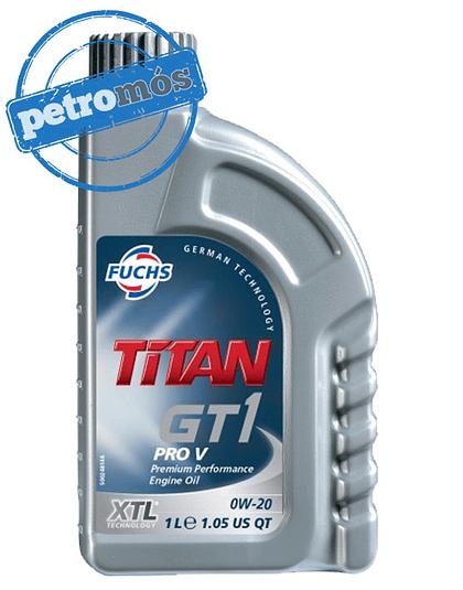 FUCHS TITAN GT1 PRO V <BR>  0W20 (XTL® Technology)