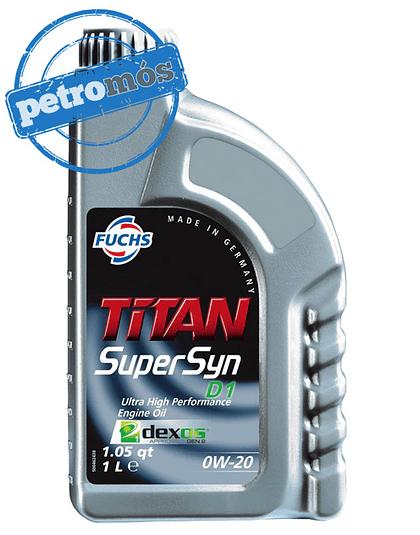 FUCHS TITAN SUPERSYN D1 0W20
