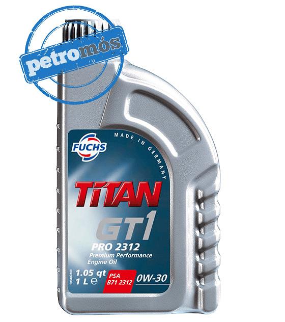 FUCHS TITAN GT1 PRO 2312 0W30