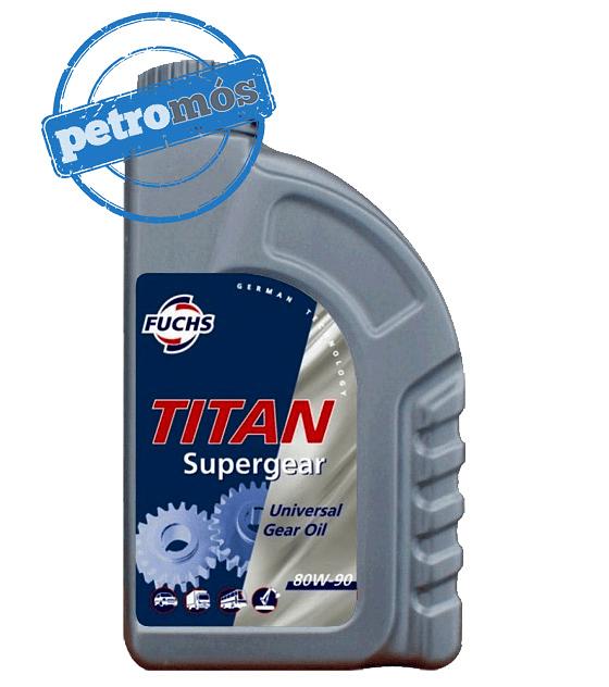 FUCHS TITAN SUPERGEAR 80W90