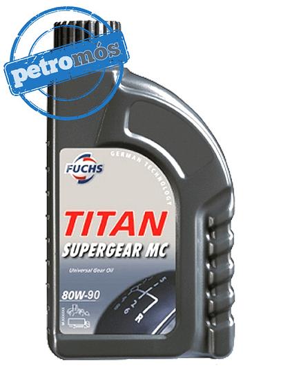 FUCHS TITAN SUPERGEAR MC 80W90