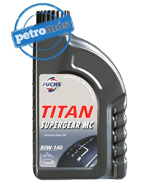 FUCHS TITAN SUPERGEAR MC 80W140