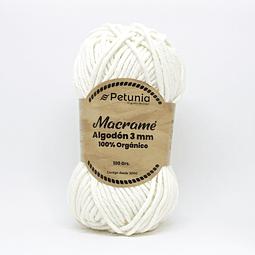 MACRAME ALGODON 3 MM - 6001