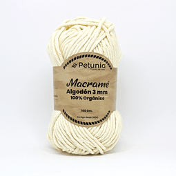 MACRAME ALGODON 3 MM - 6002