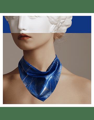 Bandana Azul Plateado