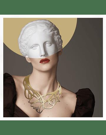 Collar Nouveau Dorado