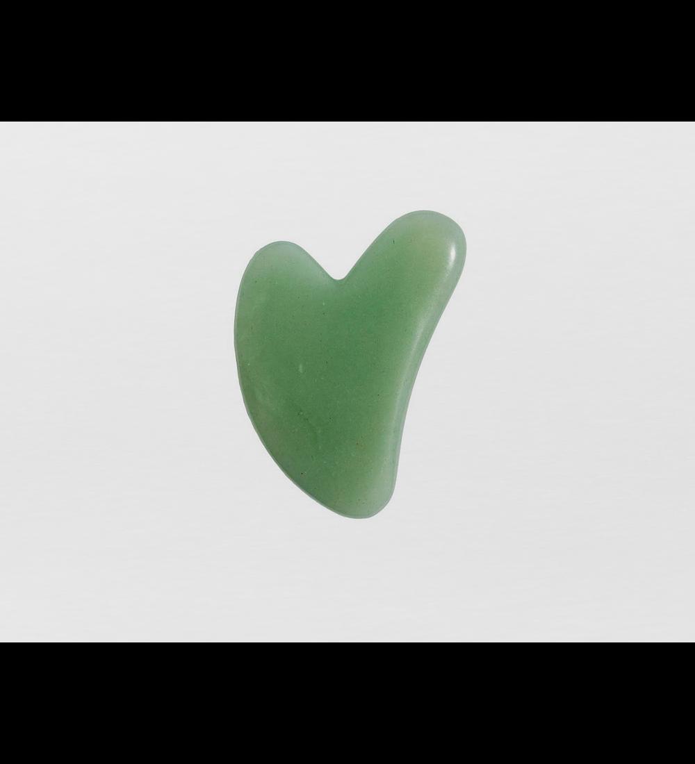 Piedra Gua Sha de jade