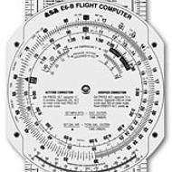 E6-B FIBERBOARD FLIGHT COMPUTER BY ASA